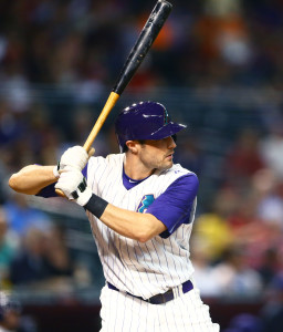 Aug 27, 2015; Phoenix, AZ, USA; Arizona Diamondbacks outfielder <a rel=