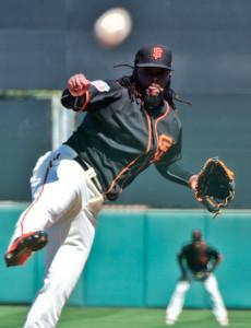 Mar 9, 2016; Scottsdale, AZ, USA; San Francisco Giants starting pitcher <a rel=