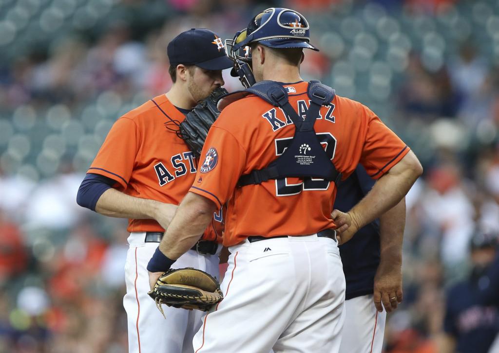 Astros Release Erik Kratz - MLB Trade Rumors