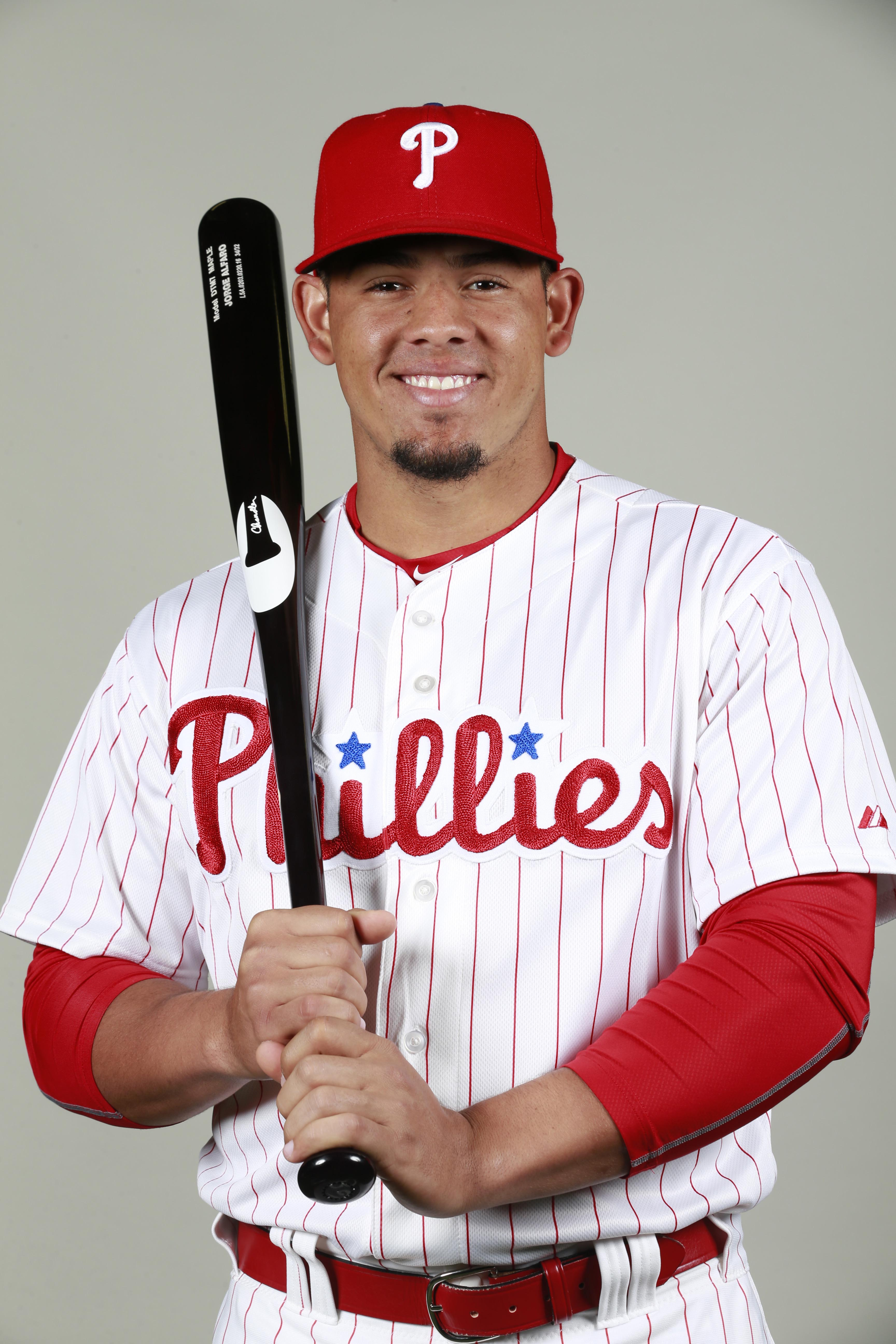 Alfaro 23 Has Long Been Considered One Of The S Top 100 Prospects He Came To Phils Along With Several Other Exciting Young Players In Deal