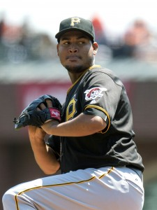 MLB: Pittsburgh Pirates at San Francisco Giants