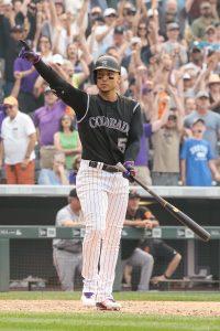 Carlos Gonzalez   Isaiah J. Downing-USA TODAY Sports
