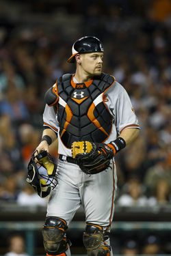 Matt Wieters - Orioles (PW)