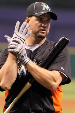 Gaby Sanchez - Marlins (PW)