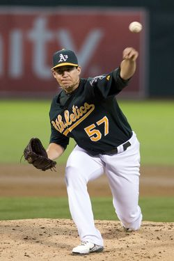 Tommy Milone - A's (PW)