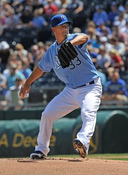 Jeremy Guthrie - Royals (PW)