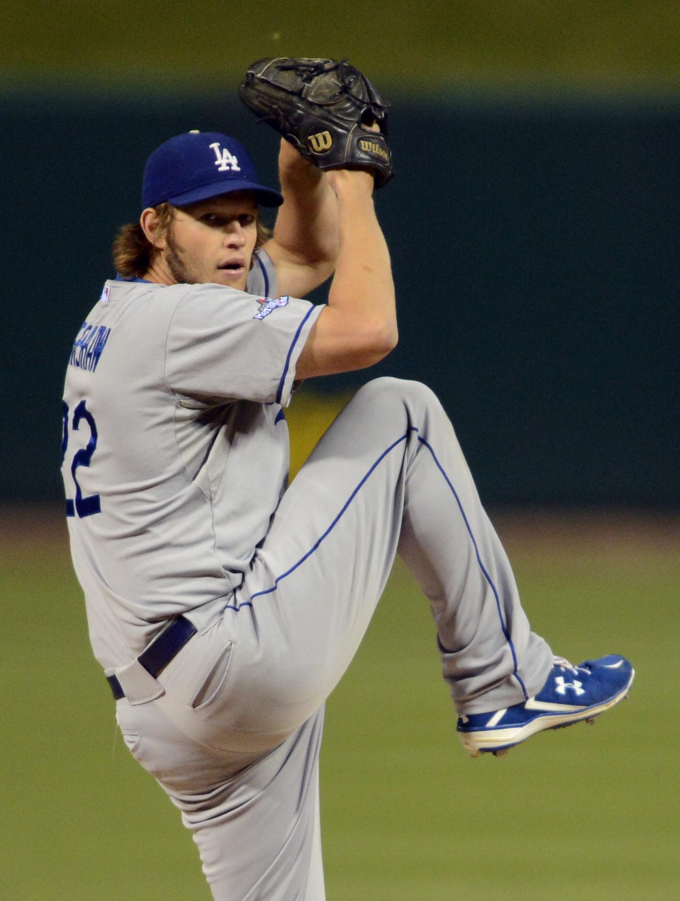 CLAYTON KERSHAW LA DODGERS MLB iphone case